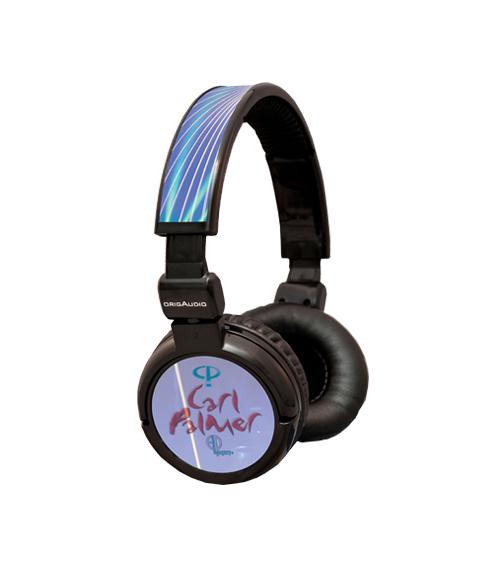 Carl Palmer Signature Headphones from OrigAudio