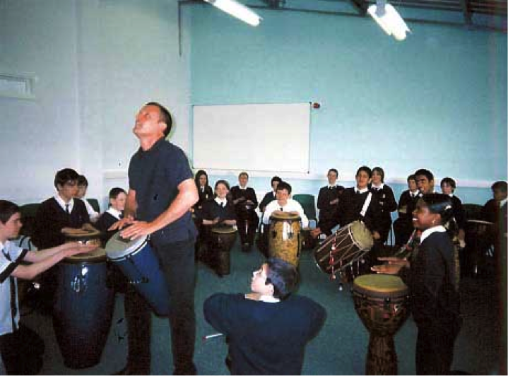 Hodge Hill School, Presentation for students (AM