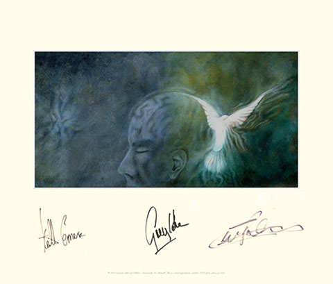 Click for high-res. Signed Album Art - Dove