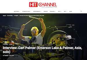 Updates - Carl Palmer Official Global Web Site
